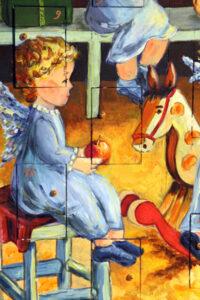 Engel-mit-Apfel