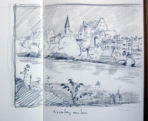 Skizze-Wasserburg